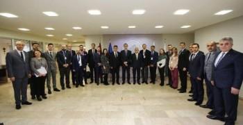 AB Ekonomi Müsteşarları ile Eskişehir AB Bilgi Merkezi Ev Sahipliğinde Eskişehir'de Buluşma