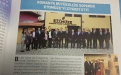 Romanya Büyükelçisi Sopanya Etomüze'yi Ziyaret Etti