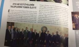 ETO Heyeti Üyelerin Taleplerini TOBB'a İletti