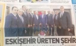 ETO Başkanı Metin Güler Ve ETO Heyeti BBP Genel Başkanı Mustafa Destici'yi Ziyaret Etti