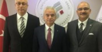 ETO Başkanı ile Nakliyat Sorunları Görüşmesi
